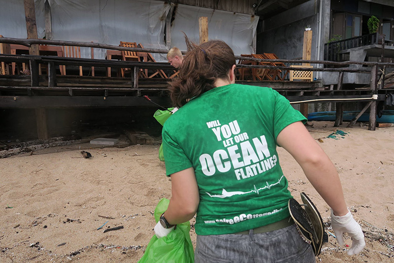 Eco Friendly Dive School Shirt
