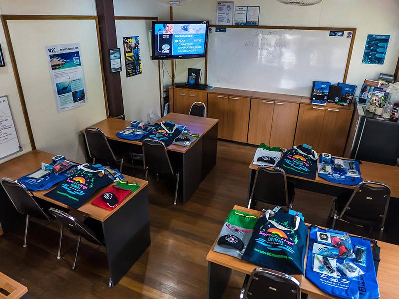 Koh Tao Divemaster Classroom