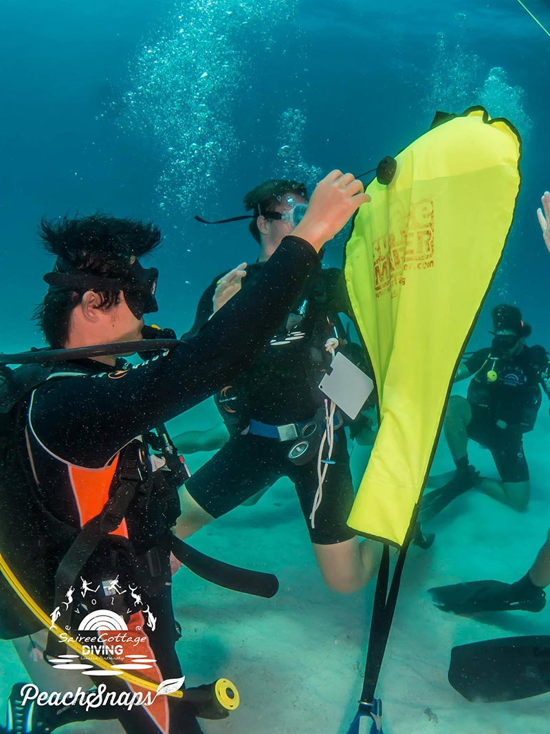 Lift Bag Ascent Divemaster Program