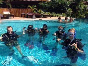 Skill Practice Divemaster Course