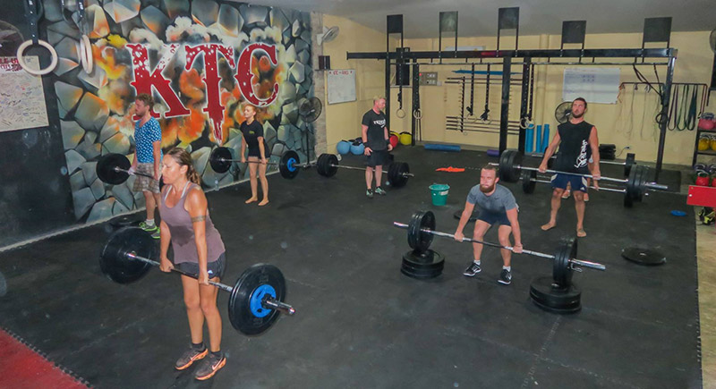 Koh Tao Activities Crossfit