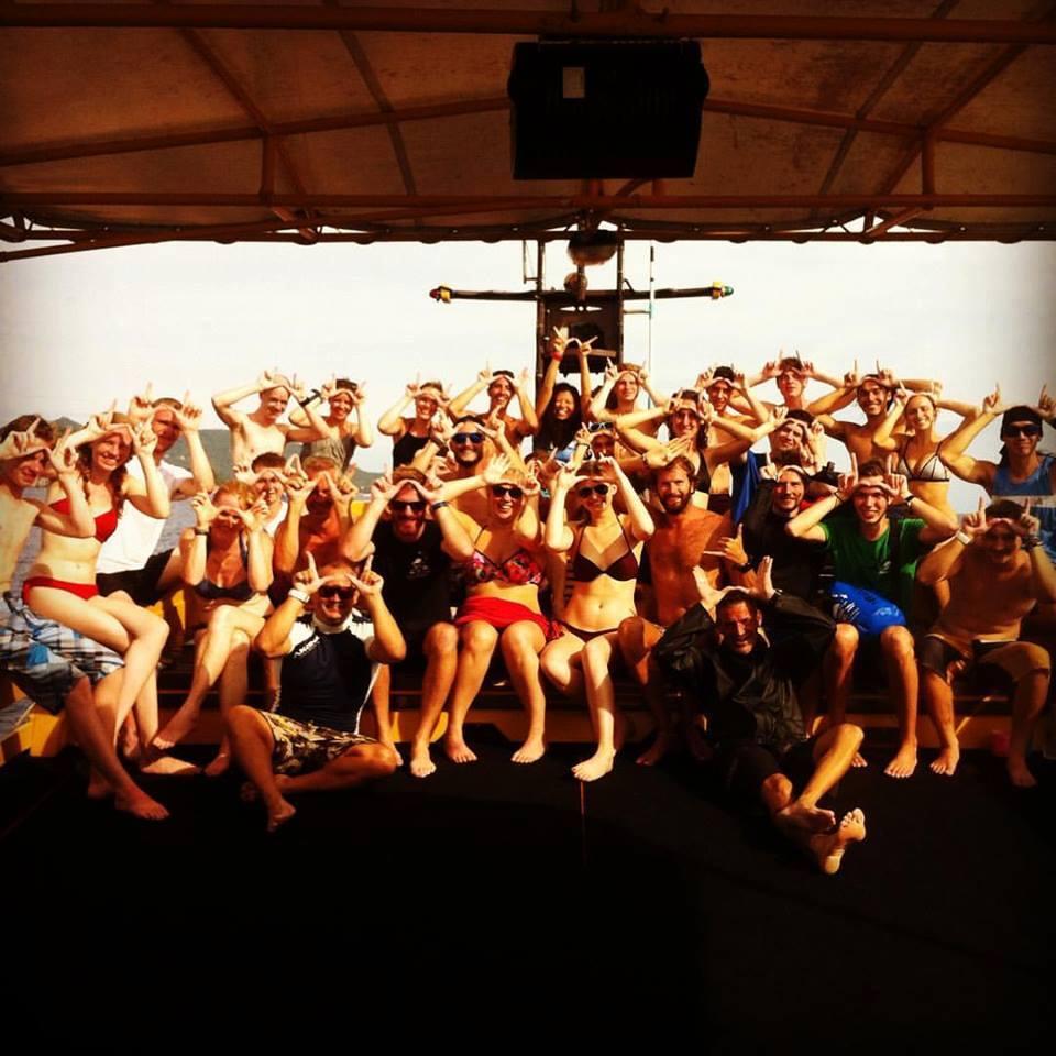 Sail Rock Group Photo