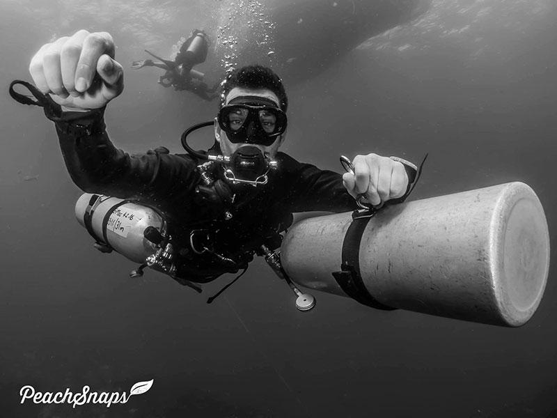 Master Scuba Diver Sidemount