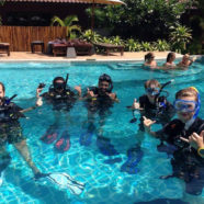 Skill Circuit Practice during the Divemaster Course